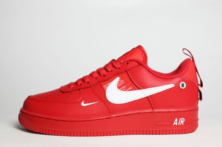 кроссовки Nike Air Force 1 Low 07 LV8 Utility Red