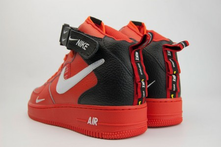 кроссовки Nike Air Force 1 Mid LV8 Utility Red