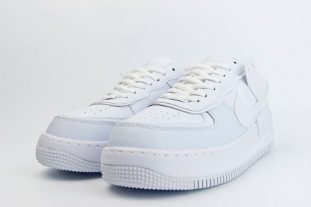 кроссовки Nike Air Force 1 Wmns Shadow Triple White