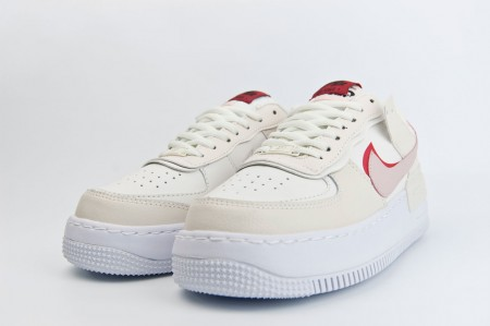 кроссовки Nike Air Force 1 Wmns Shadow Biege