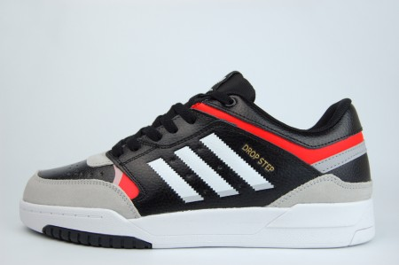 кроссовки Adidas Drop Step Black / White / Orange