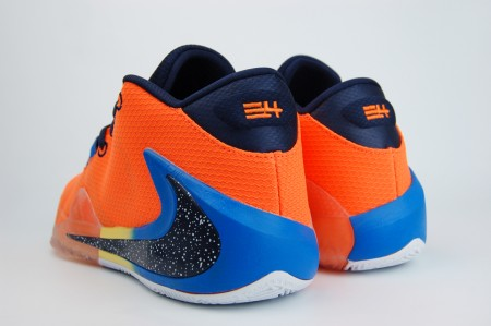 кроссовки Nike Zoom Freak 1 Orange
