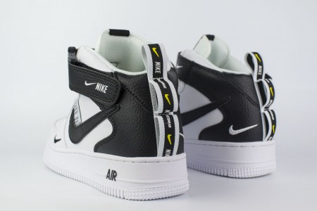 кроссовки Nike Air Force 1 Mid LV8 Utility White / Black