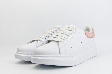 кроссовки Alexander McQueen Oversize Sneakers White / Pink